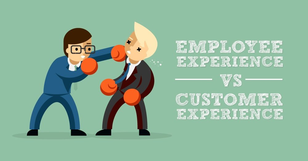 Employee Experience vs Customer Experience