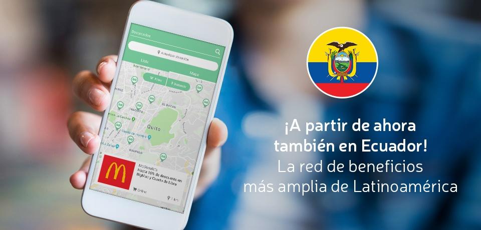 ¡La red de Beneficios de GOintegro ahora en Ecuador!