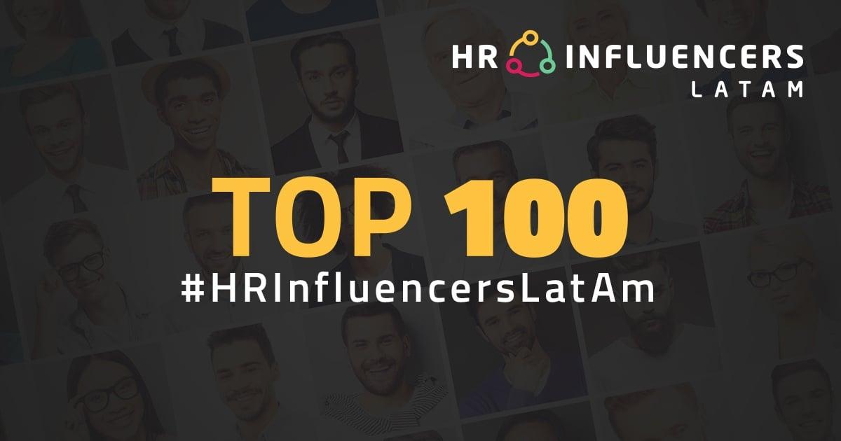 ¡Lista oficial 100  #HRInfluencersLatAm 2018!