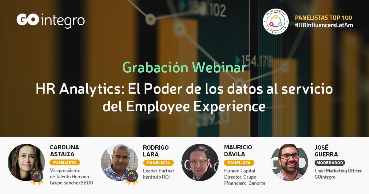 [Grabación Webinar] HR Analytics: El Poder de los Datos al Servicio del Employee Experience
